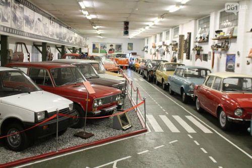 Какие музеи ретро автомото техники есть в Украине
