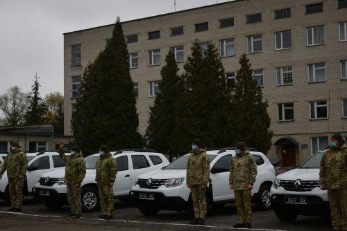 Пограничники получили еще одну партию Renault Duster