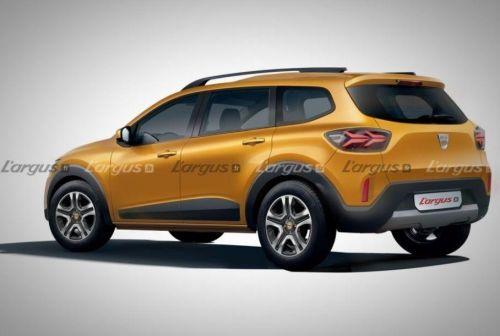 Renault готовит 7-местный кроссовер на базе Sandero