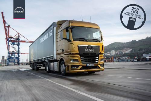 MAN TGX получил титул лучшего грузовика года