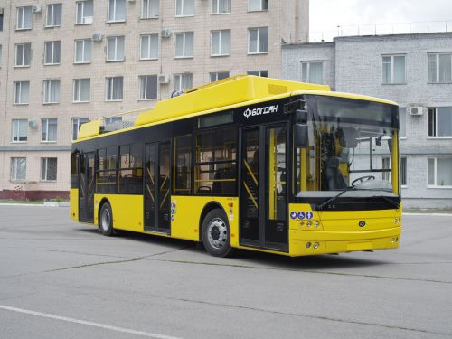 В Полтаву поставили уже половину заказанных троллейбусов Богдан Т70117
