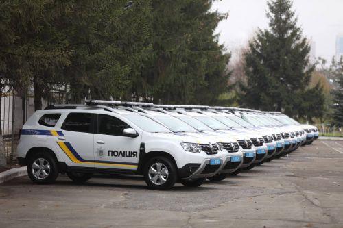 Национальная полиция закупит 100 кроссоверов за 56,7 млн. грн.