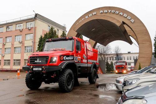"Команда ""МАЗ-СПОРТавто"" отправила технику на Дакар-2021"