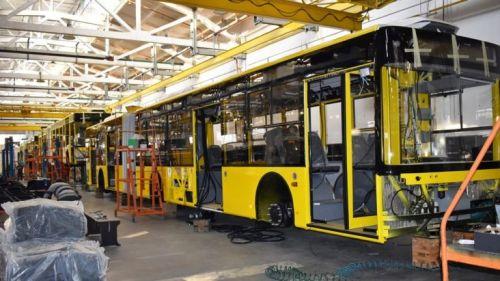 На «Богдане» стартовало производство партии троллейбусов для Киева