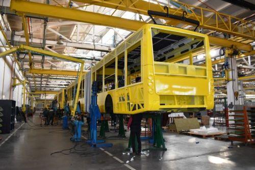 На «Богдане» стартовало производство партии троллейбусов для Киева - Богдан