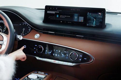 В новом кроссовере Genesis появится биометрическая идентификация водителя