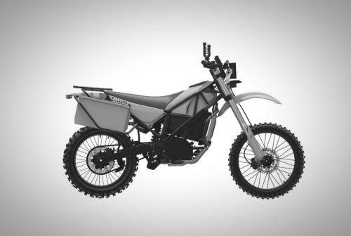 """Концерн """"Калашников"""" показал изображение гражданской версии электромотоцикла с китайским мотором - Калашников"""