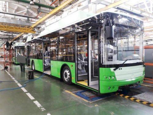 В Харьков уже поставили 5 троллейбусов «Богдан» - Богдан