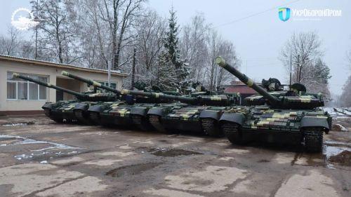 Львовский бронетанковый завод за два года восстановил более 50 танков Т-64