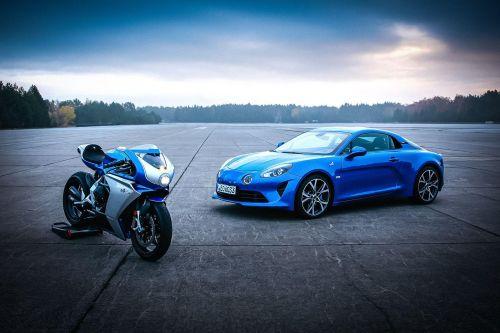 Alpina и MV Agusta представили совместный спортбайк