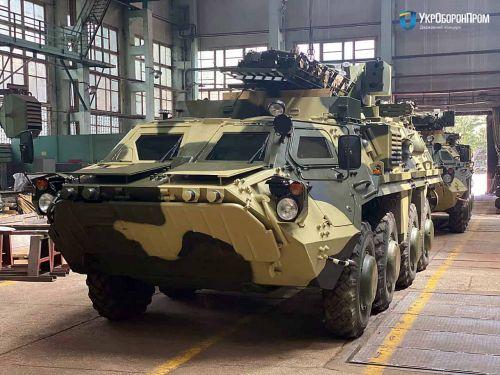 Харьковский завод ХКБМ получил заказ на 75 БТР-4Е на 2021 год