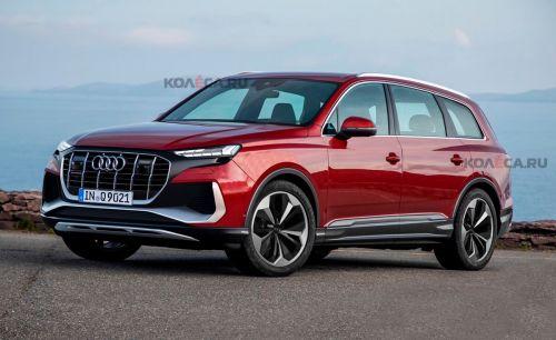 Audi готовит флагманский кроссовер Q9 - Audi