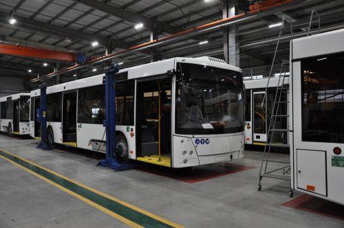 МАЗ запустил новый завод по выпуску электротранспорта
