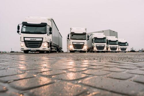 DAF поставил в Украину партию грузовиков для перевозки объемных легких грузов