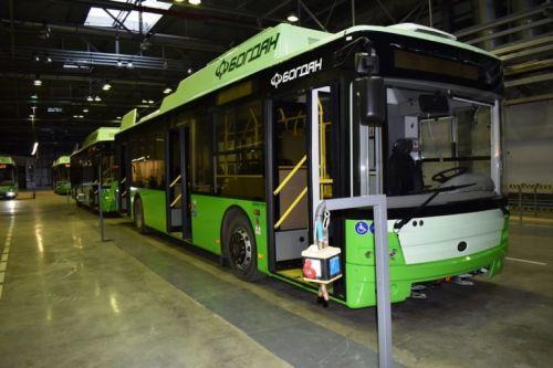 В Харьков поставили очередную партию троллейбусов Богдан Т70117