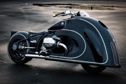 BMW выпустит ретро-версию мотоцикла R18 - BMW