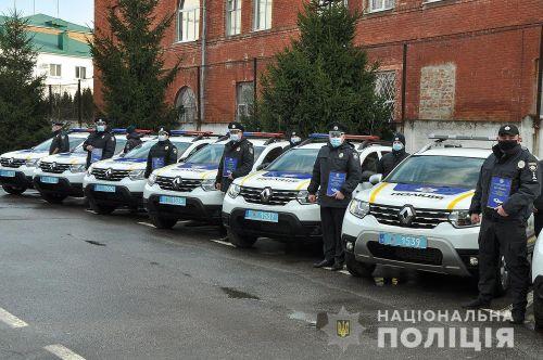 Полиция Полтавской области получила партию Renault Duster