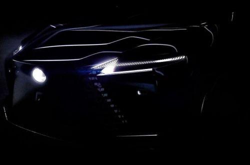 Lexus продолжает интриговать загадочным электрокаром