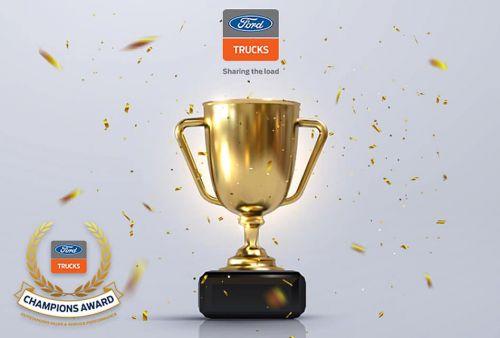 Украинский дистрибьютор FORD Trucks получил престижную награду от производителя - FORD