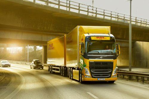 Volvo и DHL запустят экпериментальный электрогрузовик - Volvo Trucks