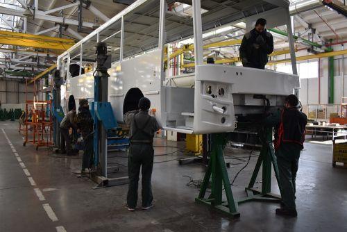 В Луцке стартовало производство 10 автобусов Богдан А14532 для ДП «Антонов»