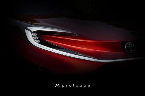 Toyota засветила первое изображение нового электрического кроссовера - Toyota