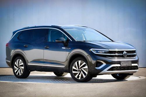 Volkswagen готовит гигантский внедорожник длиной 5,2 м - Volkswagen