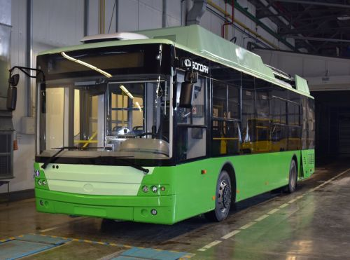 В Харьков отправлены еще 11 новых троллейбусов Богдан Т70117