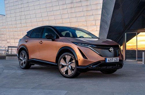 Электрокроссоверы Nissan Ariya будут окрашивать в футуристические цвета. Посмотреть палитру