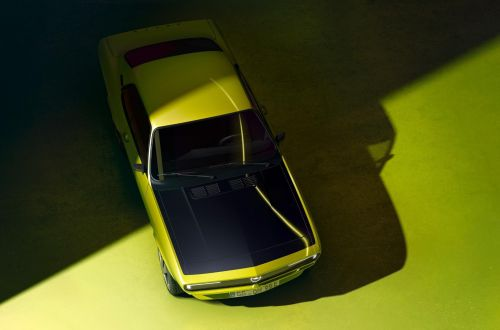 Opel возродит легендарное купе Manta, но в виде электромобиля - Opel