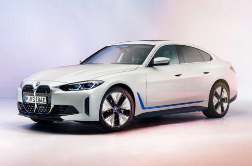 BMW показала электрический i4, у которого пробег на одной зарядке 590 км