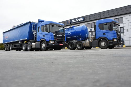 Scania начала сезон поставок техники для аграриев Украины - Scania