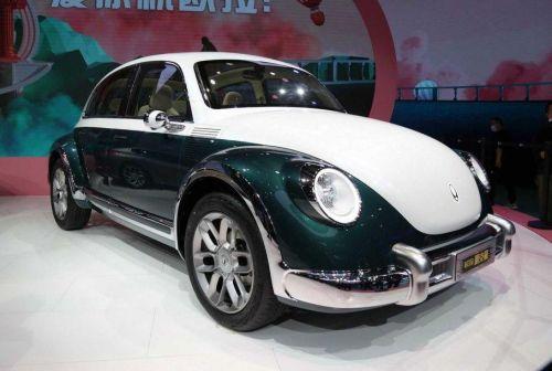 В Китае вновь взялись за плагиат автомобилей. На этот раз досталось VW Beatle