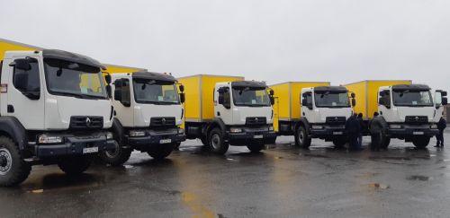 Метинвест закупил крупную партию вахтовок на шасси Renault - Renault