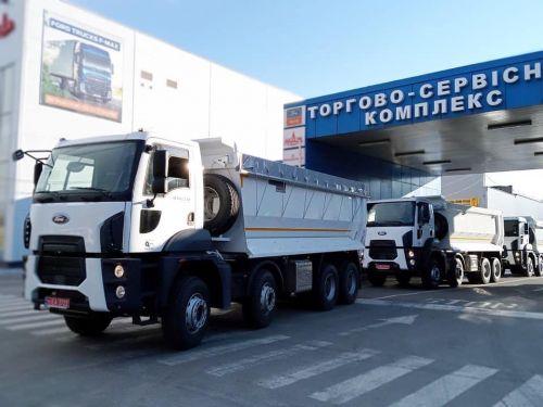 Карьер из Кривого Рога выбрал Ford Trucks для доставки железной руды