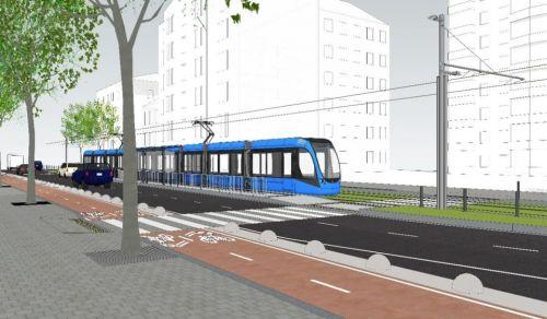 Важный инфраструктурный проект: Киев продлит линию скоростного трамвая до центра города