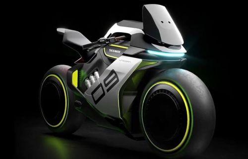 Segway представила концепт водородного мотоцикла