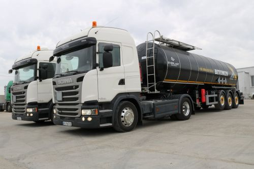 Everlast поставил партию облегченных битумовозов на тягачах Scania - Everlast