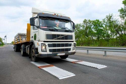 В Украине уже готова к эксплуатации система габаритно-весового контроля за перегрузом грузовиков