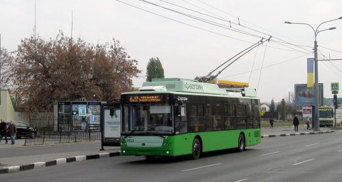 Харьков получил еще 4 троллейбуса Богдан Т70117 - Богдан