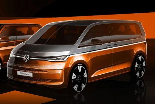 Volkswagen Multivan T7 получит продвинутую гибридную силовую установку