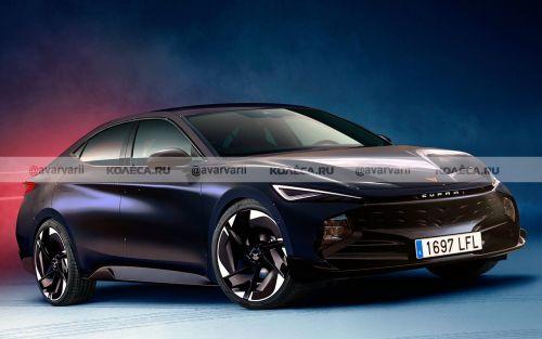 Cupra готовит электроседан по мотивам Volkswagen ID. Vizzion