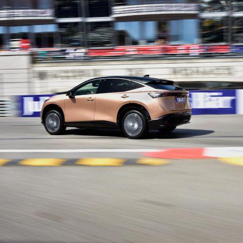 Электрокроссовер Nissan Ariya впервые засветился публично - Nissan