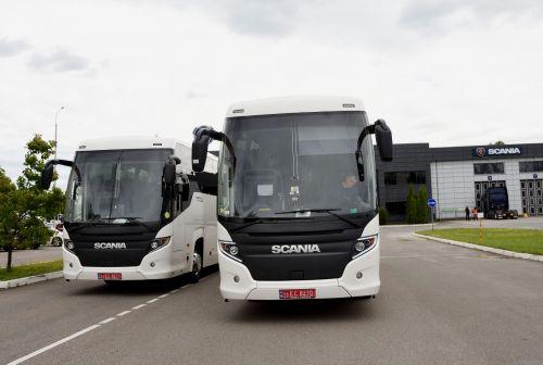 Scania поставила в Украину междугородние автобусы - Scania