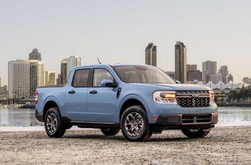 """Ford представил самый экономичный пикап в своей """"линейке"""" с расходом 5,8 л\100 км - Ford"""
