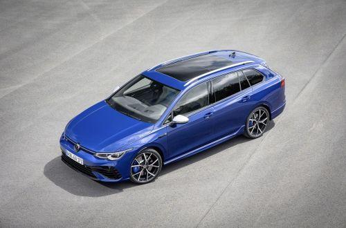 Volkswagen подготовил версию с кузовом универсал для Golf R