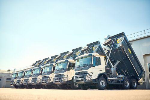 Самосвалы нового поколения Volvo FMX будут строить гипермаркеты Эпицентр