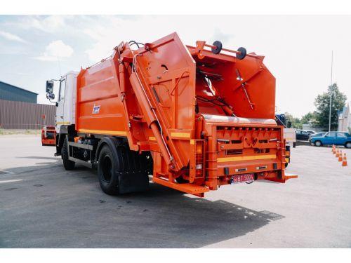 МАЗ лидирует в сегменте среднетоннажных мусоровозов - МАЗ