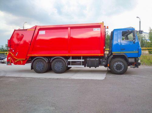 В Украине выпустили новый мусоровоз на шасси МАЗ 6312 - МАЗ
