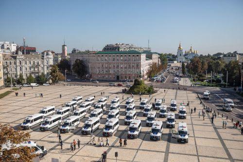 Национальная полиция получила автомобилей и оборудования на 3,4 млн Евро
